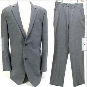 Michael Kors Men's Suit Size 40L 36 x 31 Gray